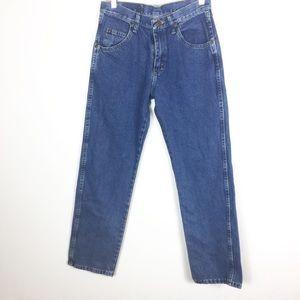 Wrangler Women's Vintage Mom Jeans Medium Wash